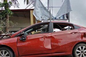 Hải Phòng: Xe ô tô nổ tan tành trong đêm nghi bị gài mìn