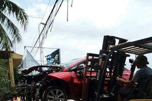 Ô tô Hyundai Accent bất ngờ phát nổ lúc nửa đêm, nghi bị gài mìn