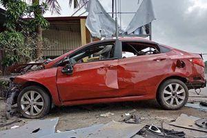 Hải Phòng: Xe ô tô nổ tan nát tại quán karaoke trong đêm