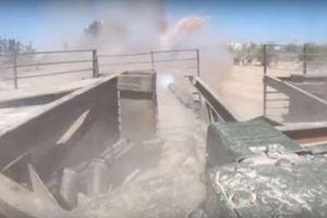 Xe tăng Syria đánh IS dữ dội ở Nam Damascus