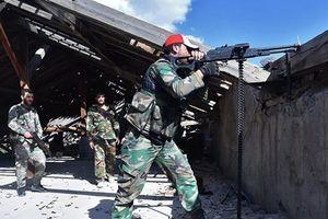 Quân đội Syria tăng cường không kích hang ổ khủng bố gần Damascus