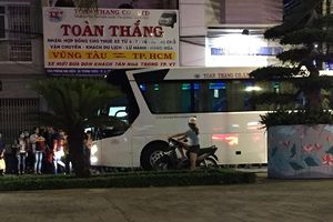 Một đơn vị vận tải hành khách ngang nhiên vào đường cấm đón khách