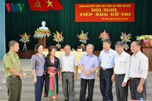 Lãnh đạo Đảng tiếp xúc cử tri các địa phương