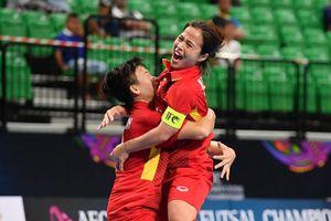 Việt Nam thắng trận mở màn tại Giải vô địch Futsal nữ Châu Á năm 2018
