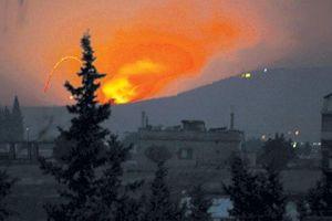 Syria: Iran dọa trả đũa sự 'hung hăng' của Israel sau vụ tấn công căn cứ
