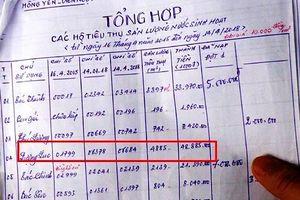 Nghệ An: Dân choáng váng vì bị truy thu hàng chục triệu đồng tiền nước