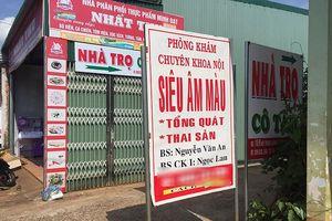 Đắk Lắk: Sở Y tế báo cáo nhanh về vụ nữ hiệu trưởng mầm non tử vong tại phòng khám tư