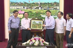 Nghệ An - Đồng Tháp thống nhất chương trình cầu truyền hình 'Chung đóa Sen Hồng'