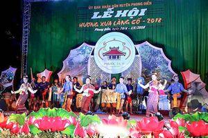 Du khách đến Lễ hội 'Hương xưa làng cổ' tăng vượt bậc