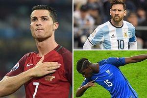 Ronaldo và Messi đá cặp ở đội hình mạnh nhất World Cup 2018 trong PES