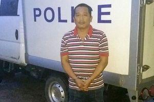 Bắt đối tượng dùng xe container chở trộm nước ngọt ở Quảng Bình