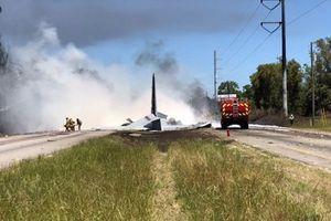 Mỹ: Rơi máy bay vận tải quân sự C-130, hai người thiệt mạng