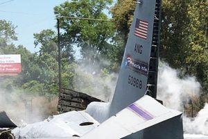 Vụ rơi máy bay quân sự ở Mỹ: Có tới 9 người thiệt mạng