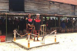 Độc đáo lễ cúng cầu mưa ở Plei Rbai