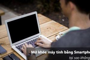 Thủ thuật khóa và mở khóa máy tính không cần chạm tay đến bàn phím