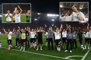 Ghi 4 bàn vào lưới Liverpool, Roma vẫn hụt bước vào chung kết