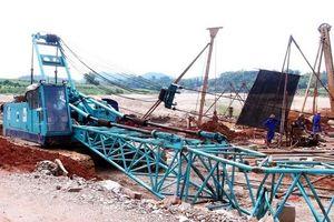 Khẩn trương làm rõ vụ sập cần cẩu làm 2 người chết ở Tuyên Quang