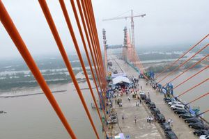 Dự án cầu Bạch Đằng có nguy cơ 'vỡ tiến độ' thông xe