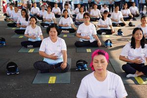 Tập yoga đúng cách có thể giảm mệt mỏi, cải thiện tâm trạng cho bệnh nhân ung thư