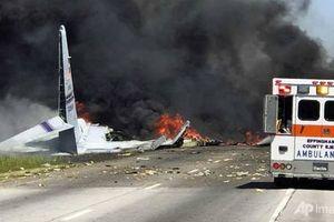Rơi máy quân sự ở Mỹ, 9 người thiệt mạng
