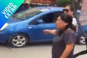 Va chạm giao thông, nữ tài xế gây bức xúc 'con người không quan trọng'