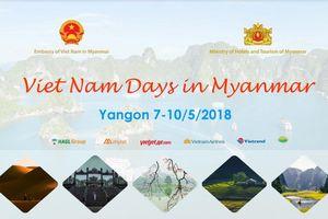 Sắp diễn ra 'Những ngày Việt Nam tại Myanmar'