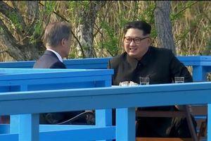 Lãnh đạo liên Triều nói gì trong gần 30 phút trò chuyện riêng tại hội nghị thượng đỉnh?