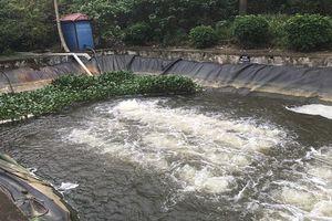 Làm rõ nghi vấn Urenco 7 xả thải ra sông Nhuệ