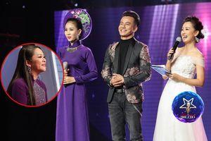 Không chỉ áo dài, HLV Như Quỳnh hứa tặng luôn đầm cho MC Quỳnh Chi