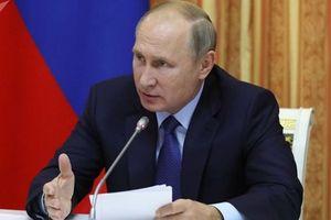 Tổng thống Putin bất ngờ 'trảm' một loạt tướng