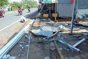 Bạc Liêu: Hai trận lốc xoáy thiệt hại 700 triệu đồng