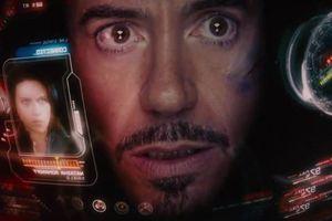 Màn hình trợ giúp Iron Man lấy cảm hứng từ iPhone đời đầu