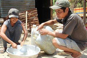 Nhiều hồ chứa nước tại Ninh Thuận ở mực nước chết