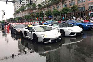 Cường Đô la cùng dàn siêu xe tiền tỷ 'show hàng' tại Sài Gòn
