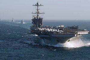 Nhóm tác chiến tàu sân bay Harry Truman bắt đầu không kích ở Syria