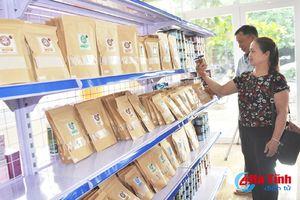 Gỡ khó tiêu thụ nông sản cho hợp tác xã Hà Tĩnh