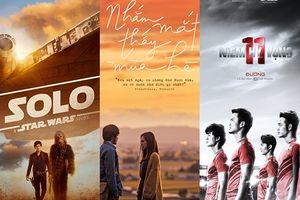 Màn ảnh rộng tháng 5 thiếu vắng phim Việt