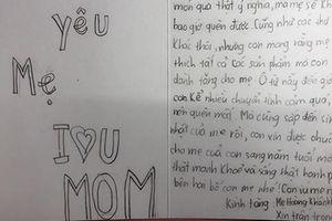 Bé gái 9 tuổi viết hàng trăm bức thư tay cho bố mẹ