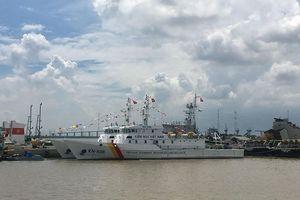 Nhà máy X51 bàn giao 2 tàu kiểm ngư vỏ thép KN-506 và KN-508