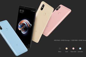 Smartphone Xiaomi Redmi Note 5 sẽ trình làng vào 7/5
