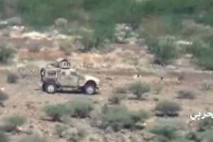 Quân Saudi Arabia tháo chạy khi Houthi diệt xe quân sự