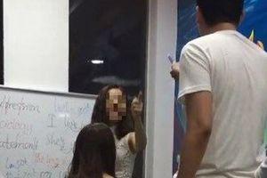 Sốc: Không chịu nộp phạt cô giáo dạy tiếng Anh ở Hà Nội chửi học viên là 'lợn', xưng 'mày - tao' gây bức xúc