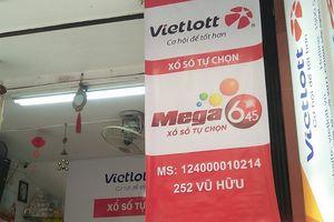 Tờ vé số may mắn trúng giải Jackpot 1 trị giá 303 tỷ đồng được mua tại Hà Nội