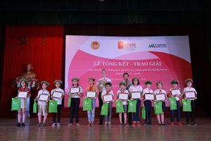 202 thí sinh đạt giải Olympic tiếng Anh tiểu học thành phố Hà Nội lần thứ 15