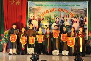 Giao lưu hát quan họ truyền thống