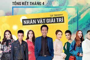 Trường Giang và những ngôi sao được săn đón trên Internet Việt tháng 4