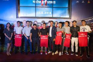 Dàn sao cầu thủ U23 Việt Nam trải nghiệm cùng bóng đá trong phim 11 Niềm Hy Vọng