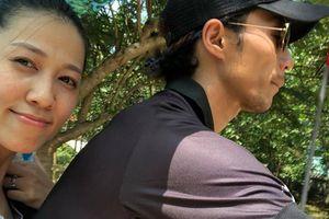 Vợ Phạm Anh Khoa: 'Trong tâm bão lại bình yên'
