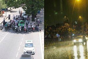 Nắng gay gắt tại Hà Nội hết ngày mai, đêm đề phòng mưa rào, dông lốc