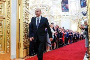 Tổng thống Putin nhậm chức, ví nước Nga như 'phượng hoàng tái sinh'